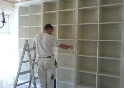 Biblioteksinredning